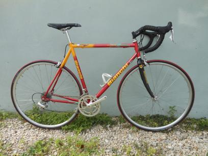 2000 Bianchi Veloce Red/Yellow