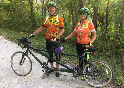 Rochport on Cannondale Tandem 2018-10-05