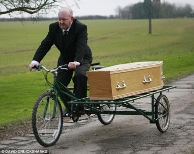Bicycle Hearse