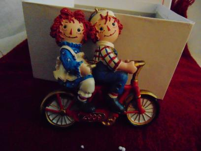 Raggety Ann and Andy on Tandem Ornament